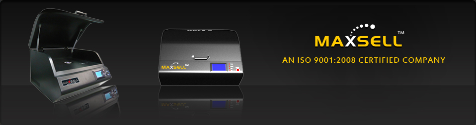 MAXSELL  ISO-9000 Certified Company Introduces GOLD TESTER